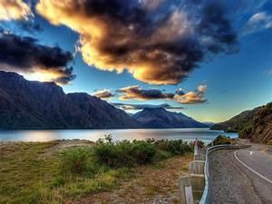 new, zealand, lake, tekapo, mountains, cloud, sky, wallpaper, hd, 3840x2160, , , wallpapers13, com