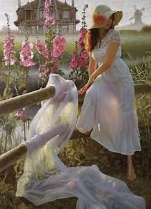 Andrey, Belichenko, Le, Manoir, Normond, Belichenko, Fantasy, Art, Portraits, Original, Beautiful