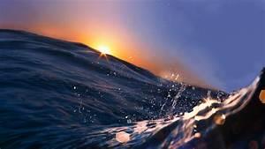 Wallpaper, Sea, 5k, 4k, Wallpaper, 8k, Ocean, Water, Sunset, Sunrise, Blue, Rays, Nature, 602