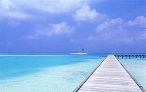 Beach, Blue, Sky, Wallpapers