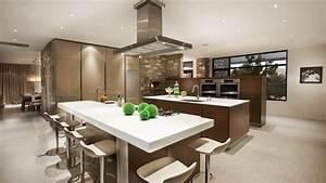 Wallpaper, Kitchen, Living, Room, House, Classic, Elegant, Decoration, Architecture, 4364