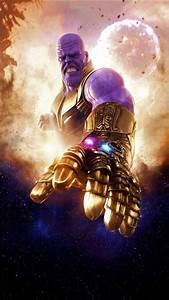 Thanos-with-the-infinity-gauntlet-iphone-wallpaper