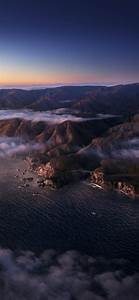 Big, Sur, 4k, Wallpaper, Mountains, Clouds, Sunrise, Morning, Macos, Daylight, Stock, California