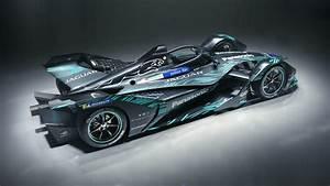 2018, Jaguar, I, Type, Electric, Formula, E, Car, 4k, 2, Wallpaper