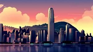 International, Finance, Centre, Hong, Kong, Wallpapers