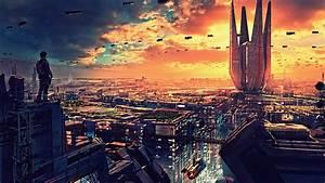 wallpaper, futuristic, , future, world, , 4k, , art, , 20319