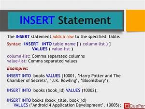 Database Systems SQL DDL Statements (Chapter 3/3)
