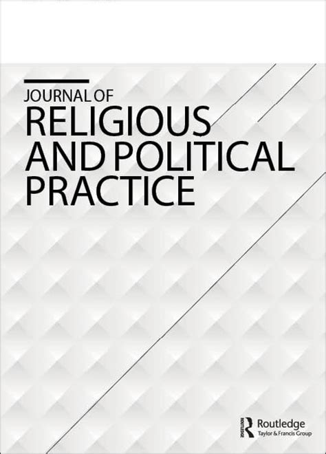 Image result for Journal of Religious and Political Practice