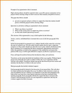 Annotated Essay  Essay On Brain Drain also Causes Of World War One Essay Thesis Statements Examples For Argumentative Essays Thesis  Essay On Good Behaviour